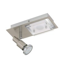 Briloner 2879-022 - LED laevalgusti COMBINATA 1xGU10 / 3W + LED / 5W / 230V