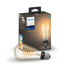 LED Hämardatav pirn Philips HUE WHITE FILAMENT ST72 E27/7W/230V 2100K