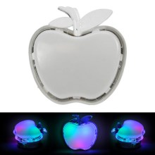 LED Öölamp pistikupesasse APPLE LED/0.4W/230V