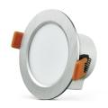 LED ripplaevalgusti VENUS LED/7W/230V hõbe ümmargune