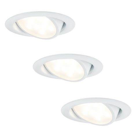 Paulmann 92091 - komplekt 3x süvistatav LED valgusti 3x LED/4,2W/230V