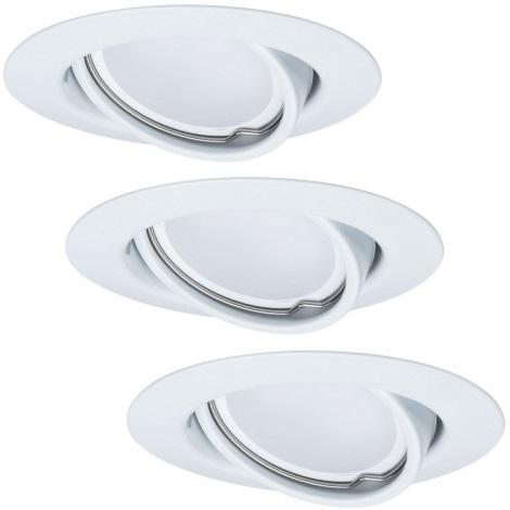 Paulmann - TIP 3975 - KOMPLEKT 3 x LED/4x8W Hämardatav süvistatav valgusti 230V