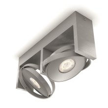 Philips 53152/48/P0 - LED-kohtvalgusti PARTICON 2xLED/4,5W/230V