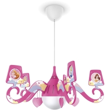 Philips 71757/28/16 - lastetoa valgusti DISNEY PRINCESS 1xE27 / 15W / 230V