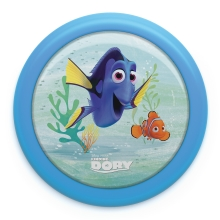 Philips 71924/35 / P0 - LED Lastetoa valgusti FINDING DORY LED / 0,3W / 2xAAA
