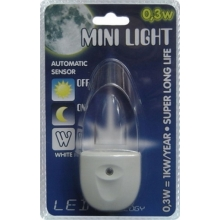 pistiklamp MINI-LIGHT (sinine valgus)