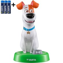 Varta 15641 - LED Lamp lastele THE SECRET LIFE OF PETS LED / 3 x AAA