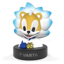Varta 15660 - LED lastetoa lamp FINKEY LED/3xAA